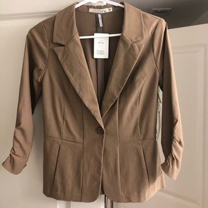 Never-been-worn Taupe Blazer